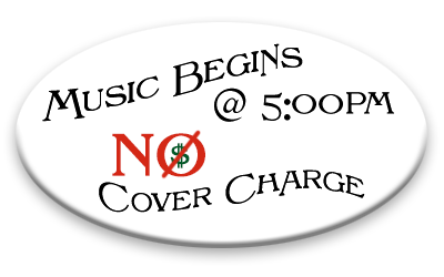 Music @ 5pm, No Cover Charge