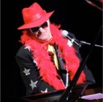 Brian Harris performing Simply Elton